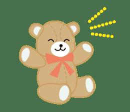 Everyday Teddy Bear(English) sticker #4136651