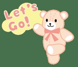 Everyday Teddy Bear(English) sticker #4136654