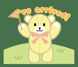 Everyday Teddy Bear(English) sticker #4136655