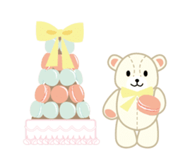 Everyday Teddy Bear(English) sticker #4136658
