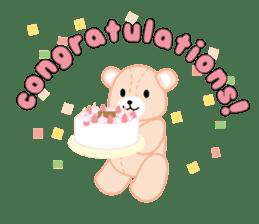 Everyday Teddy Bear(English) sticker #4136659