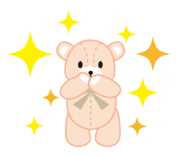 Everyday Teddy Bear(English) sticker #4136662
