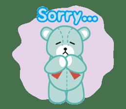 Everyday Teddy Bear(English) sticker #4136663