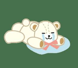 Everyday Teddy Bear(English) sticker #4136669
