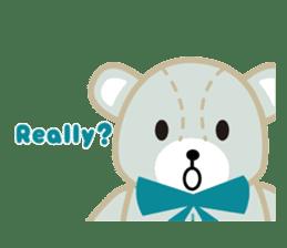 Everyday Teddy Bear(English) sticker #4136675