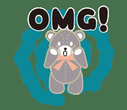 Everyday Teddy Bear(English) sticker #4136677