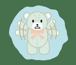 Everyday Teddy Bear(English) sticker #4136678