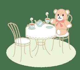 Everyday Teddy Bear(English) sticker #4136683
