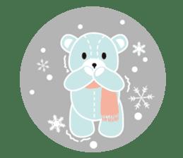 Everyday Teddy Bear(English) sticker #4136685
