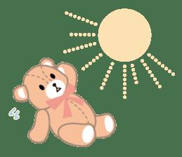 Everyday Teddy Bear(English) sticker #4136686