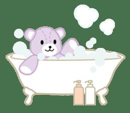 Everyday Teddy Bear(English) sticker #4136687