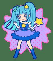 magical girl Sticker sticker #4141469