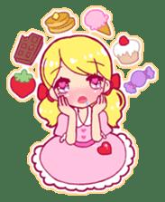 magical girl Sticker sticker #4141474
