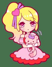 magical girl Sticker sticker #4141480