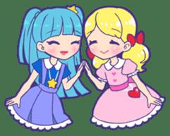 magical girl Sticker sticker #4141483