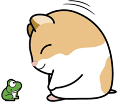 Ham-cho! sticker #4146908