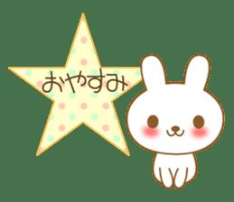 The cute Bunny sticker #4153298