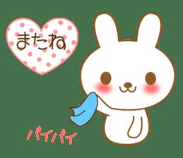 The cute Bunny sticker #4153299