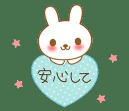 The cute Bunny sticker #4153303