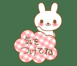 The cute Bunny sticker #4153304
