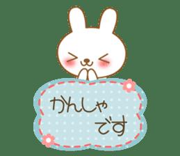 The cute Bunny sticker #4153309