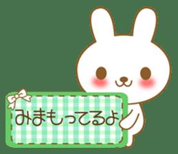 The cute Bunny sticker #4153316