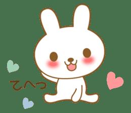 The cute Bunny sticker #4153317