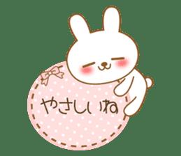 The cute Bunny sticker #4153324