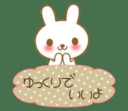 The cute Bunny sticker #4153332