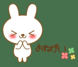 The cute Bunny sticker #4153335