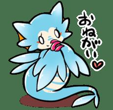 Cute little dragons sticker sticker #4153472