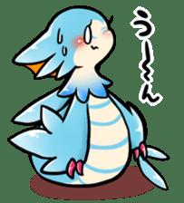Cute little dragons sticker sticker #4153483