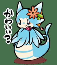 Cute little dragons sticker sticker #4153489