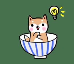 MameShiba-dog and Japanese DONBURI sticker #4154283