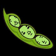 สติ๊กเกอร์ไลน์ Green Soy Beans