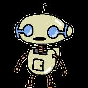 สติ๊กเกอร์ไลน์ The Negative robot