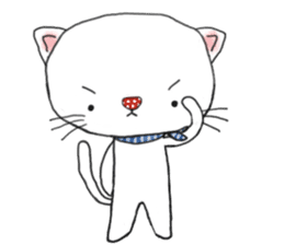 1 day of free cats sticker #4161099