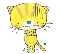 1 day of free cats sticker #4161120