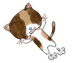 1 day of free cats sticker #4161131