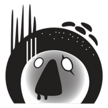 Pon Pon, the ghost sticker #4163219