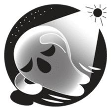 Pon Pon, the ghost sticker #4163221