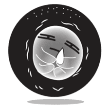 Pon Pon, the ghost sticker #4163237