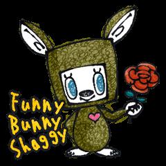 Funny Bunny Shaggy