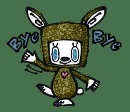 Funny Bunny Shaggy sticker #4164241