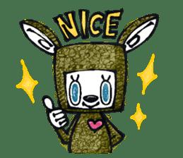 Funny Bunny Shaggy sticker #4164242