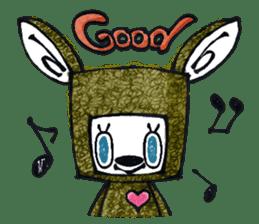 Funny Bunny Shaggy sticker #4164244