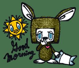 Funny Bunny Shaggy sticker #4164248
