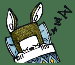 Funny Bunny Shaggy sticker #4164251