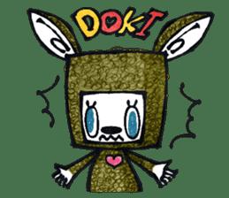 Funny Bunny Shaggy sticker #4164262
