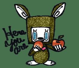 Funny Bunny Shaggy sticker #4164264